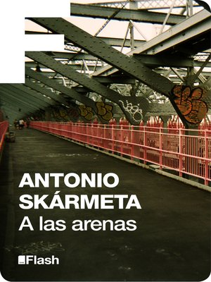 cover image of A las arenas (Flash Relatos)