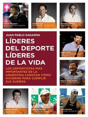 cover image of Líderes del deporte
