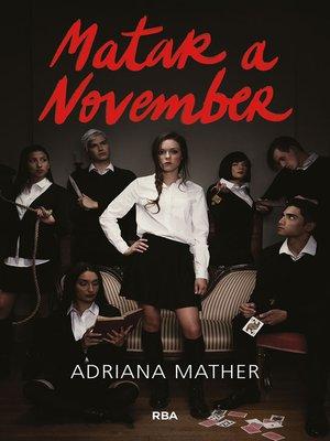 cover image of Matar a November (Matar a November 1)