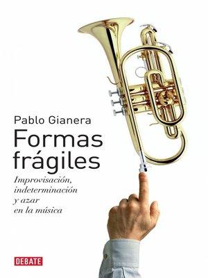cover image of Formas frágiles