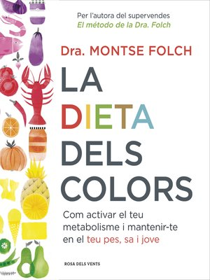 cover image of La dieta dels colors