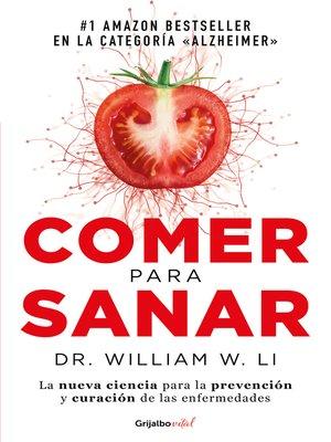 cover image of Comer para sanar
