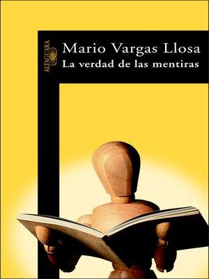 cover image of La verdad de las mentiras