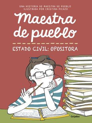 cover image of Maestra de pueblo. Estado civil