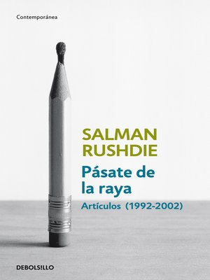 cover image of Pásate de la raya