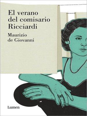cover image of El verano del comisario Ricciardi