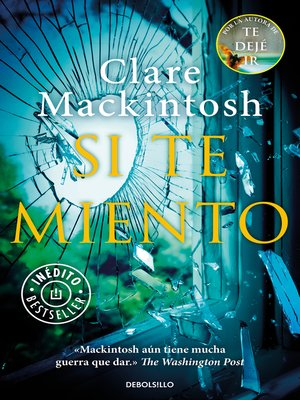 cover image of Si te miento