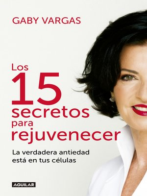 cover image of Los 15 secretos para rejuvenecer