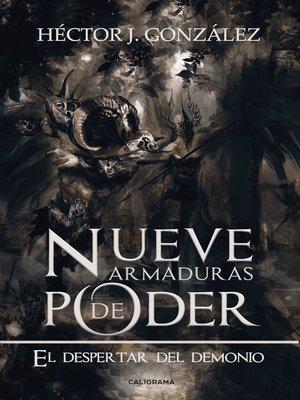 cover image of Nueve armaduras de poder