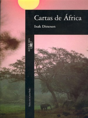cover image of Cartas de África