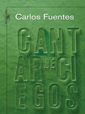 cover image of Cantar de los ciegos