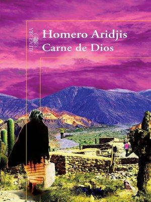 cover image of Carne de Dios