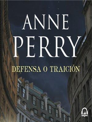 cover image of Defensa o traigión