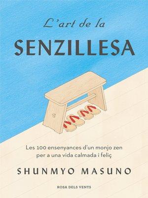 cover image of L'art de la senzillesa