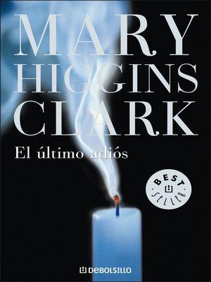 cover image of El último adiós
