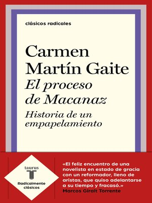 cover image of El proceso de Macanaz