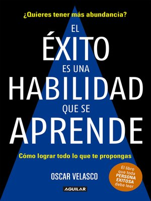 cover image of El éxito es una habilidad que se aprende