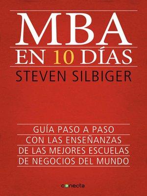 cover image of MBA en 10 días