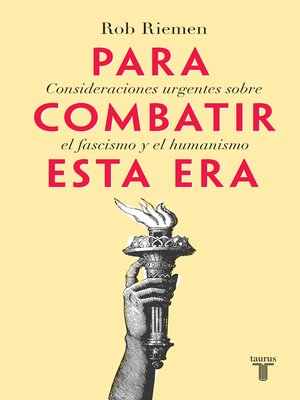 cover image of Para combatir esta era