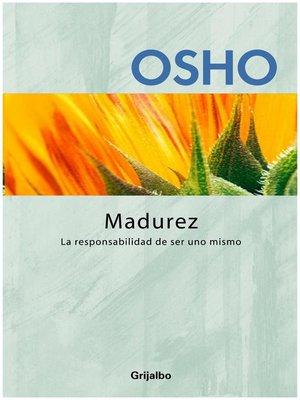 cover image of Madurez (Claves para una nueva forma de vivir)