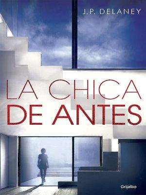 cover image of La chica de antes