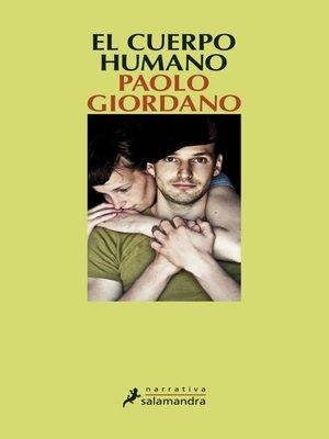cover image of El cuerpo humano