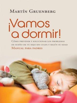 cover image of ¡Vamos a dormir!