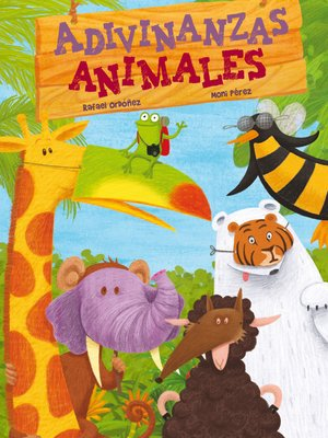 cover image of Adivinanzas animales
