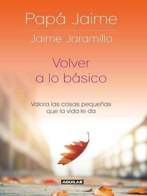 cover image of Volver a lo básico