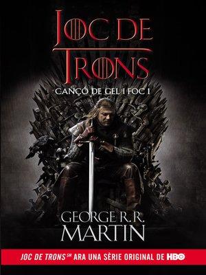 cover image of Joc de Trons (Cançó de gel i foc 1)