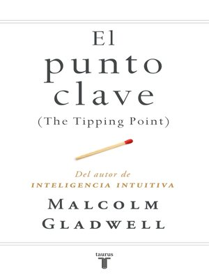 cover image of El punto clave (The Tipping Point)
