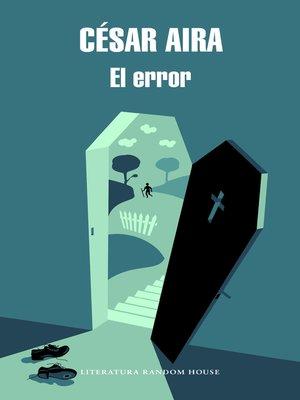 cover image of El error