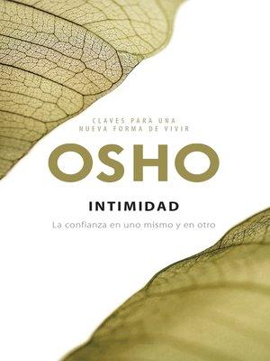 cover image of Intimidad (Claves para una nueva forma de vivir)