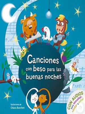 cover image of Canciones con beso para las buenas noches