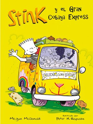 cover image of El Gran Cobaya Express (Serie Stink 4)