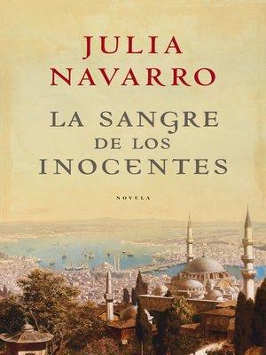 cover image of La sangre de los inocentes