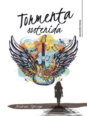 cover image of Tormenta sostenida
