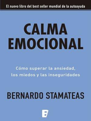 cover image of Calma emocional