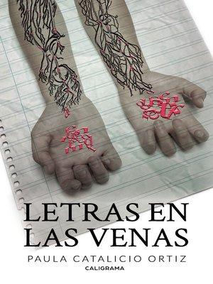 cover image of Letras en las venas