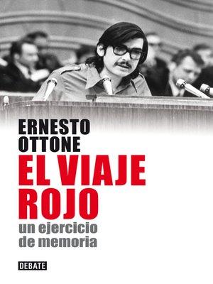cover image of El viaje rojo