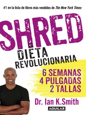 cover image of Shred. La dieta revolucionaria