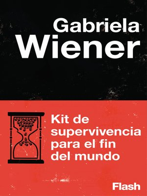 cover image of Kit de supervivencia para el fin del mundo (Flash Relatos)