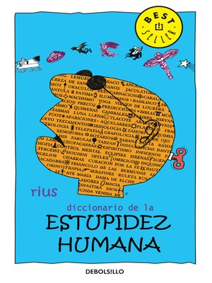 cover image of Diccionario de la estupidez humana