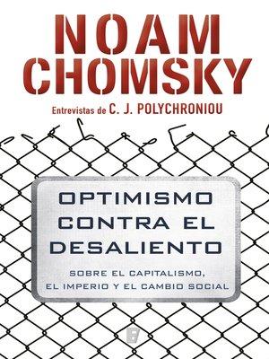 cover image of Optimismo contra el desaliento