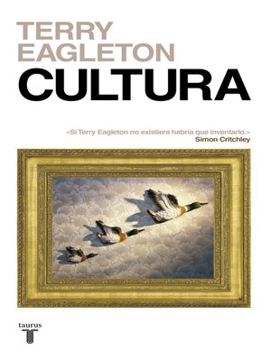 cover image of Cultura