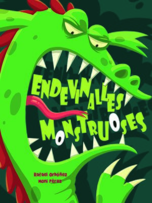 cover image of Endevinalles monstruoses