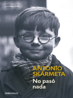 cover image of No pasó nada