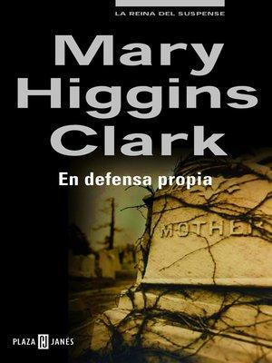 cover image of En defensa propia