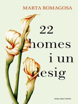 cover image of 22 homes i un desig