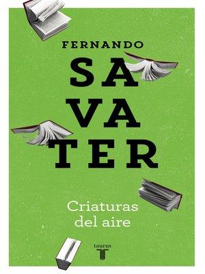 cover image of Criaturas del aire